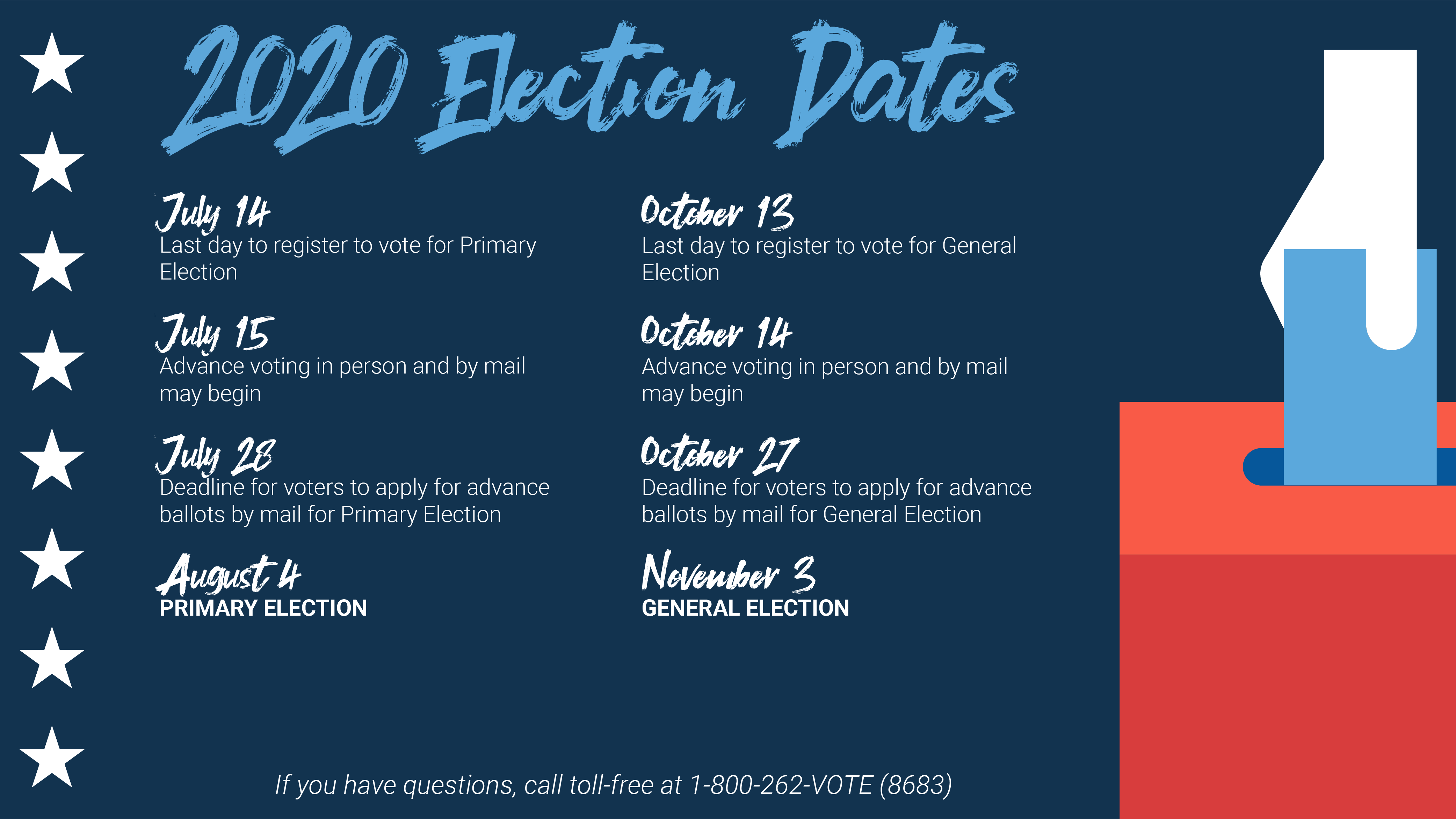 Election Dates graphic