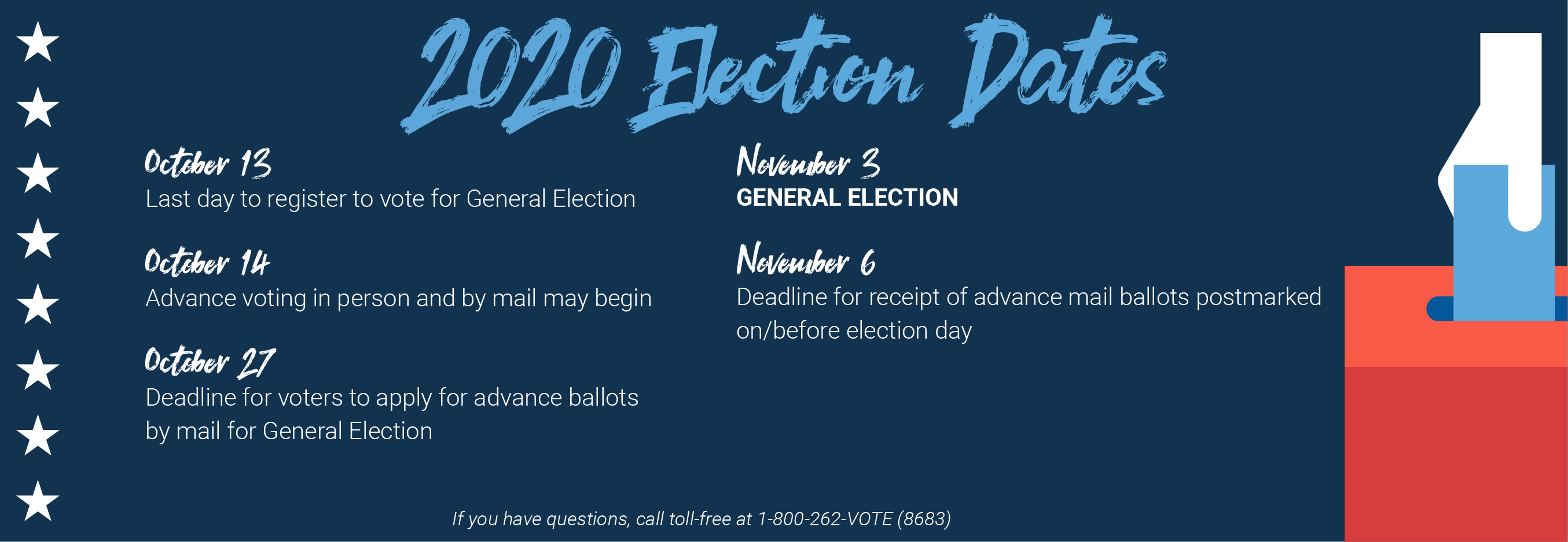 2020 election dates image