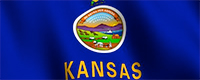 State of Kansas flag image